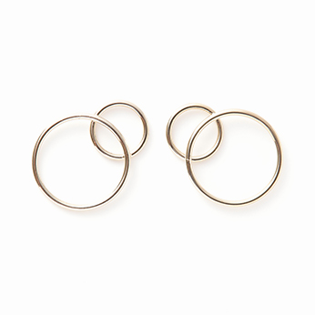 Lea earrings gold