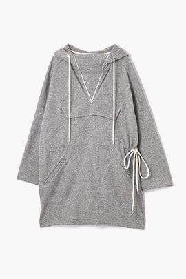 anorak wool dress