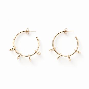Ada earring gold