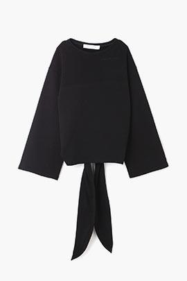 black openback sweatshirt