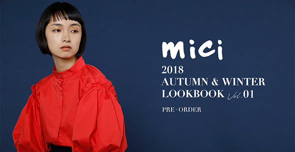 mici Autumn Winter 2nd collection PRE-OREDER