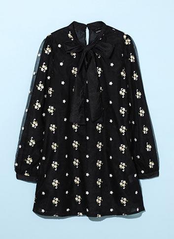 PRINCLE ORGANZA DRESS
