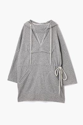 anorak wool dress