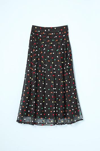 Spirit Away Midi Skirt