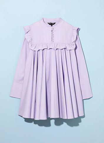 LILAC LUST REGINA DRESS